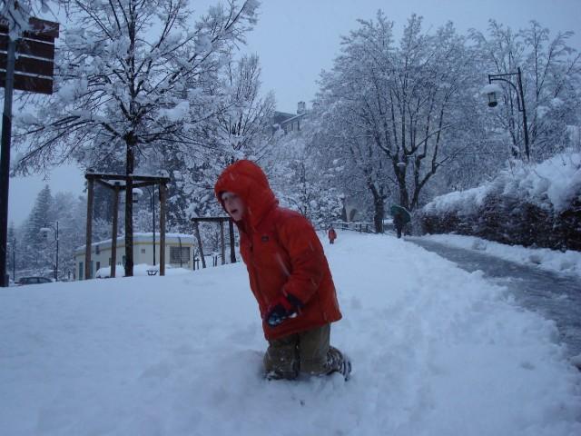 Nov. 30 Snowstorm in Chamonix
