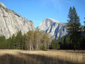 Royal Arches, The Prow and Half Dome